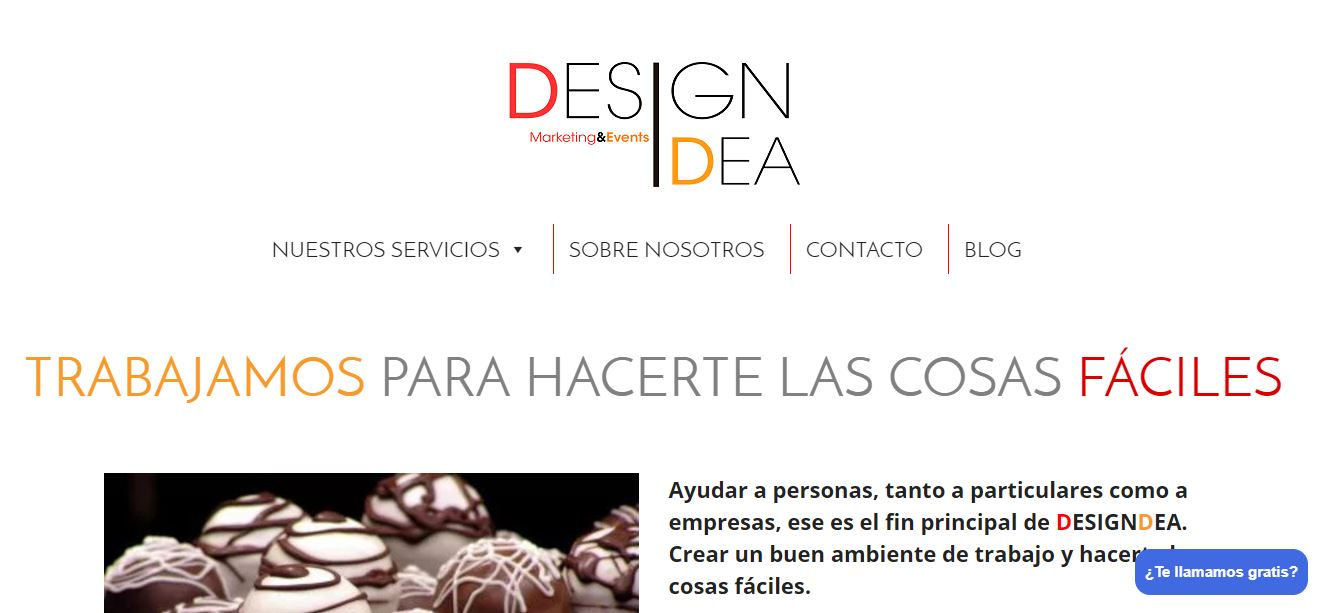 Designdea Empresa de Marketing y Eventos en Valencia