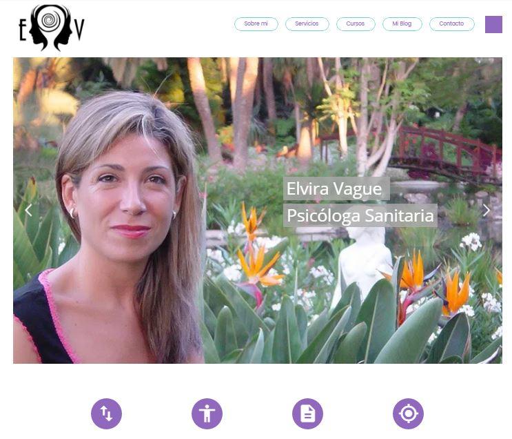Marca personal para autónomo - Elvira Vague - Psicóloga en Valencia