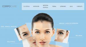 web en wordpress y tienda online corpocare alzira valencia