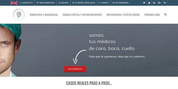 Cirugía Facial Benidorm - Web en wordpress para pyme