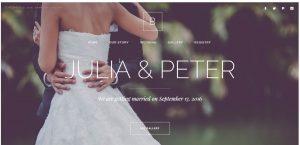 alguien que me haga la web para boda - plantilla