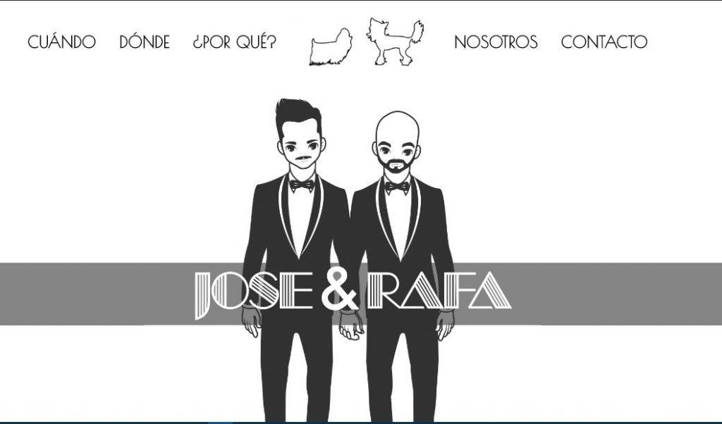 web para mi boda en Valencia