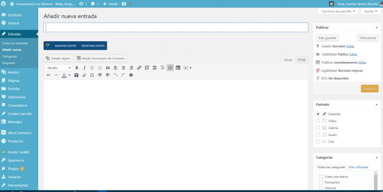 Curso WordPress 100% Práctico. Desarrolla y Controla TU propia Web