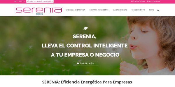 diseño web empresa de energía